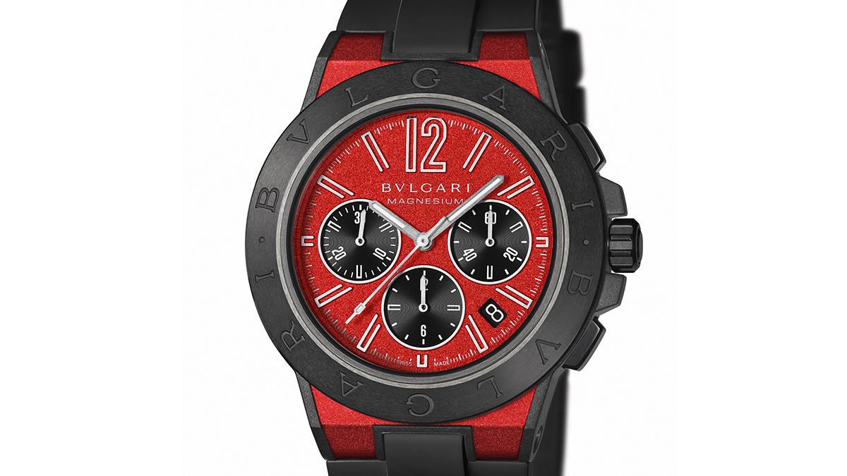Bulgari Diagono Magnesium Watch