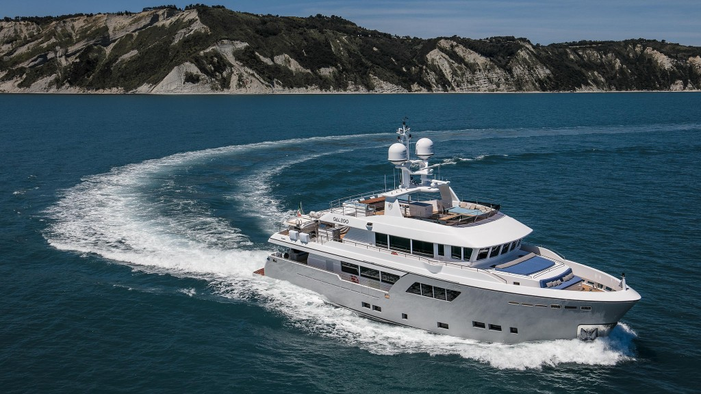 Cantiere delle Marche Darwin Class 102 Galego Explorer Yacht Expedition Yacht