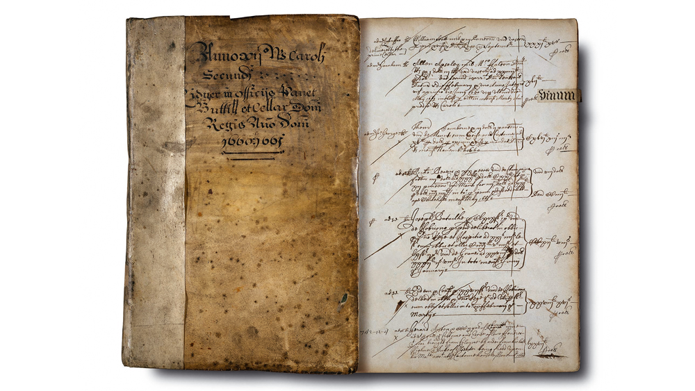 pages from the cellar book of Haut-brion