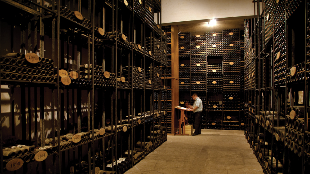 the Chateau haut-brion's library