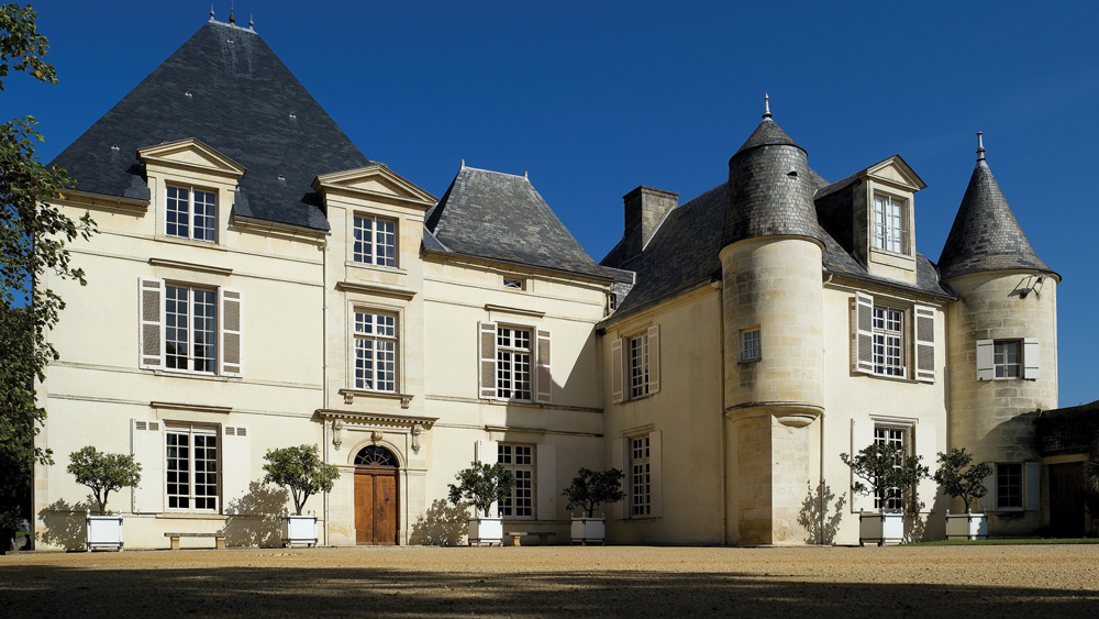 exterior of the chateau haut-brion