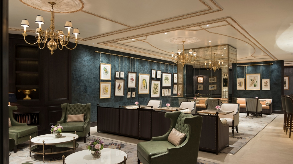 The restaurant at the Lanesborough Club & Spa in London