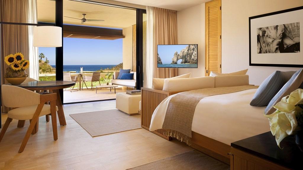 Montage Los Cabos interior of the bedroom