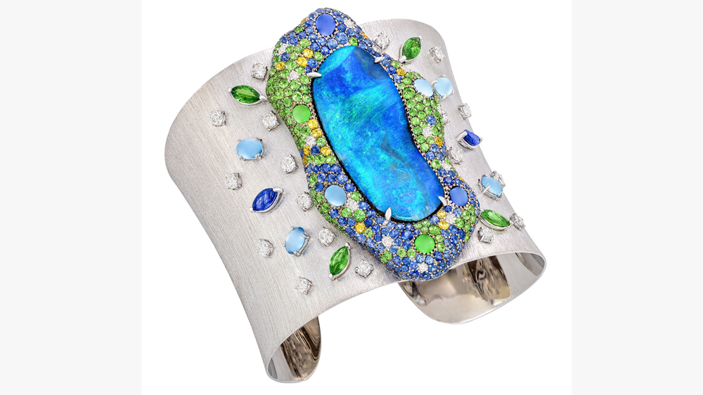 Margot McKinney's jeweled cuff