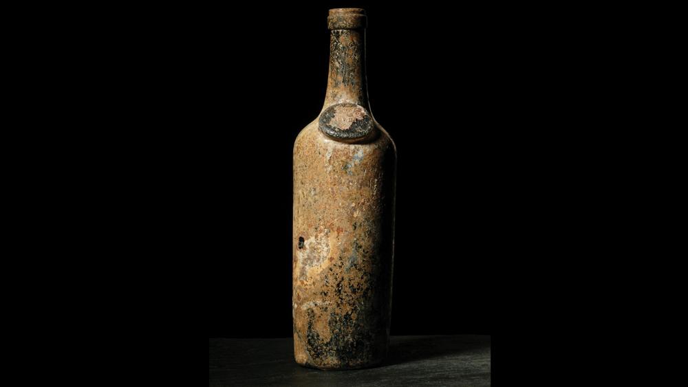 original decanter from Haut-Brion