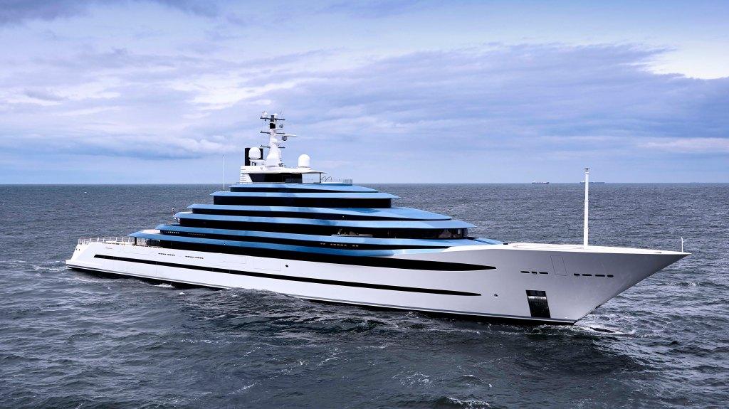 Oceanco Jubilee superyacht netherlands