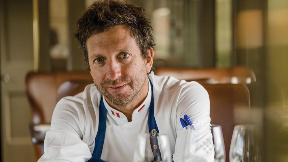 executive chef Diego Muñoz portrait
