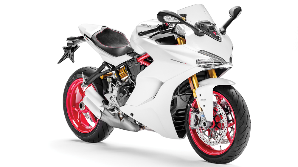 ducati supersport front view
