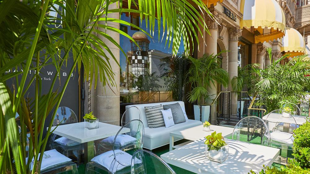 Beverly Wilshire Garden of Wonder Patio