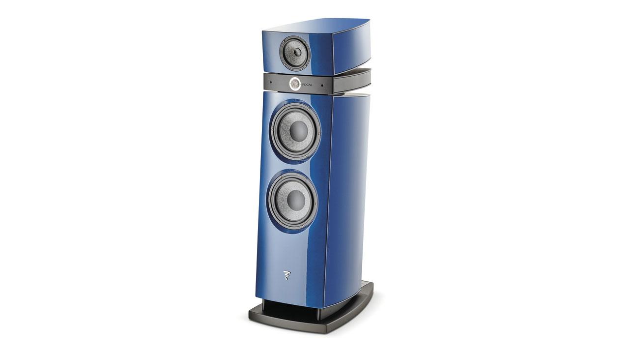 Focal Utopia Evo Maestro with blue finish