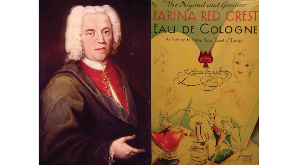 Farina 1709 fragrance label