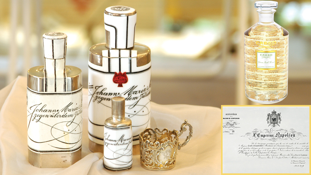 house of creed fragrance bottle and label