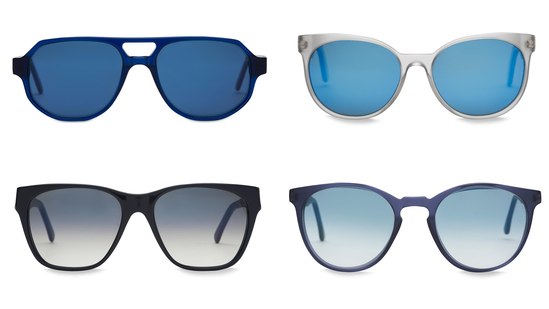 Frescobol sunglasses with blue lenses