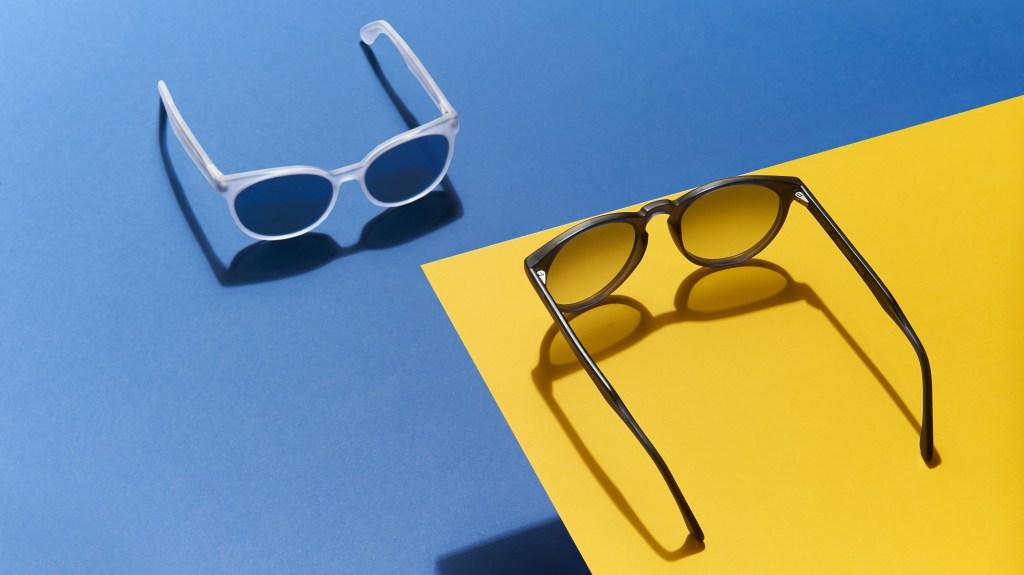Frescobol Sunglasses in blue and gray