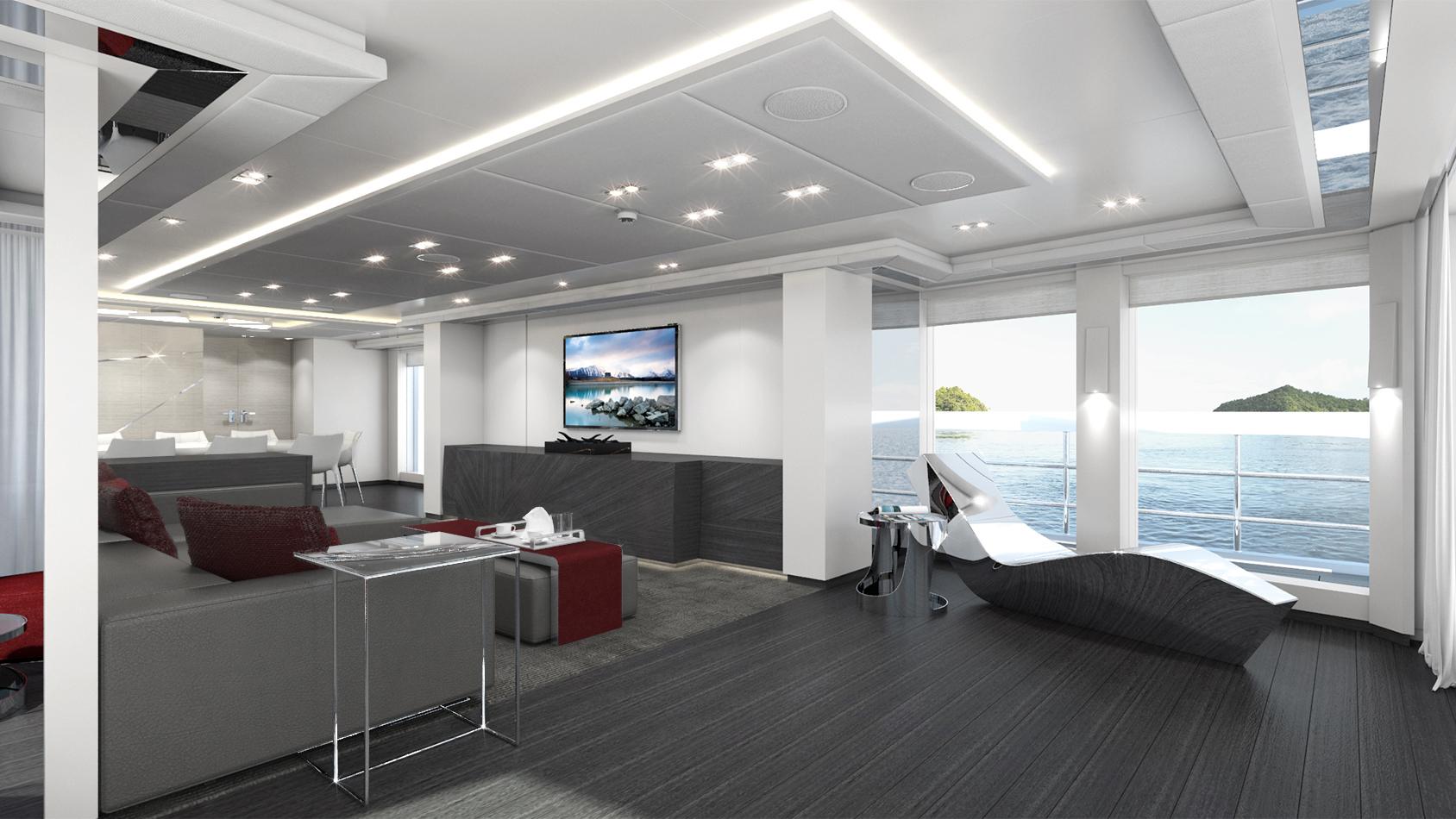 Heesen Hybrid Superyacht Home