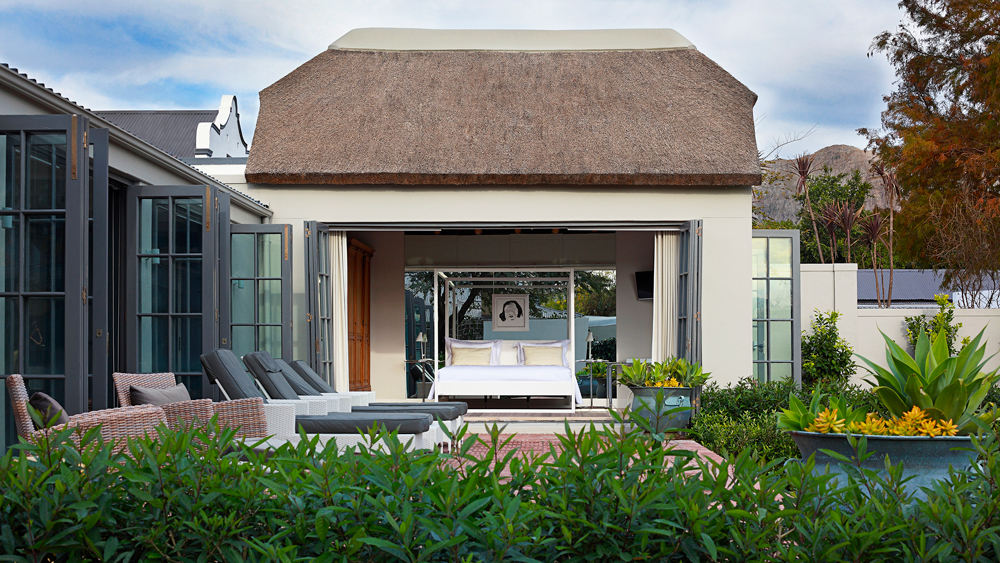 exterior and pool at South Africa's Koko House