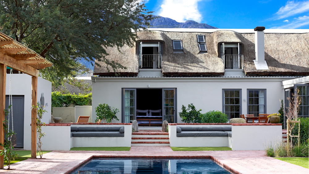 exterior and pool at the South Africa's Koko House