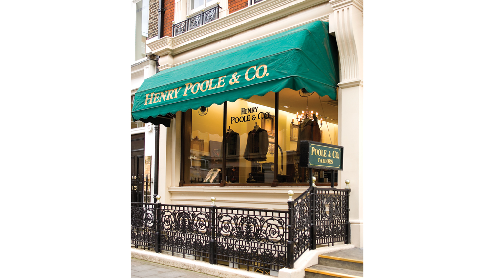 Henry Poole storefront