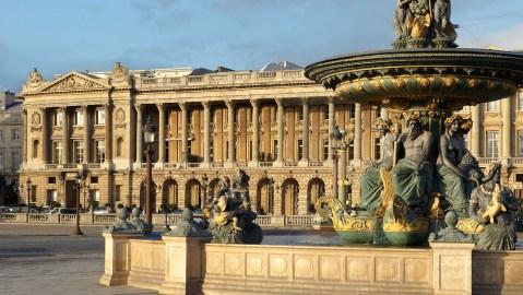 Hôtel de Crillon in Paris exterior