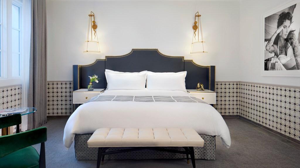 King Room at Hotel Californian in Santa Barbara California