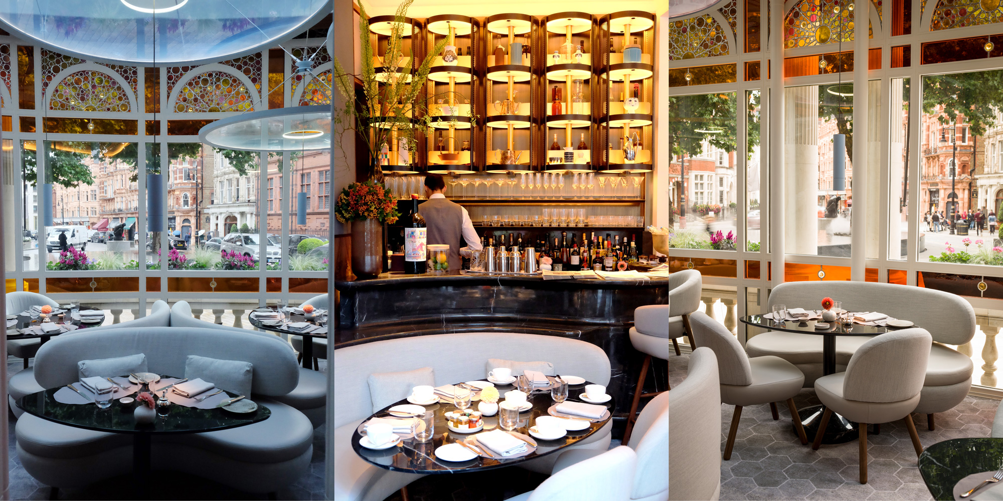 bar and restaurant at Jean-Georges at The Connaught
