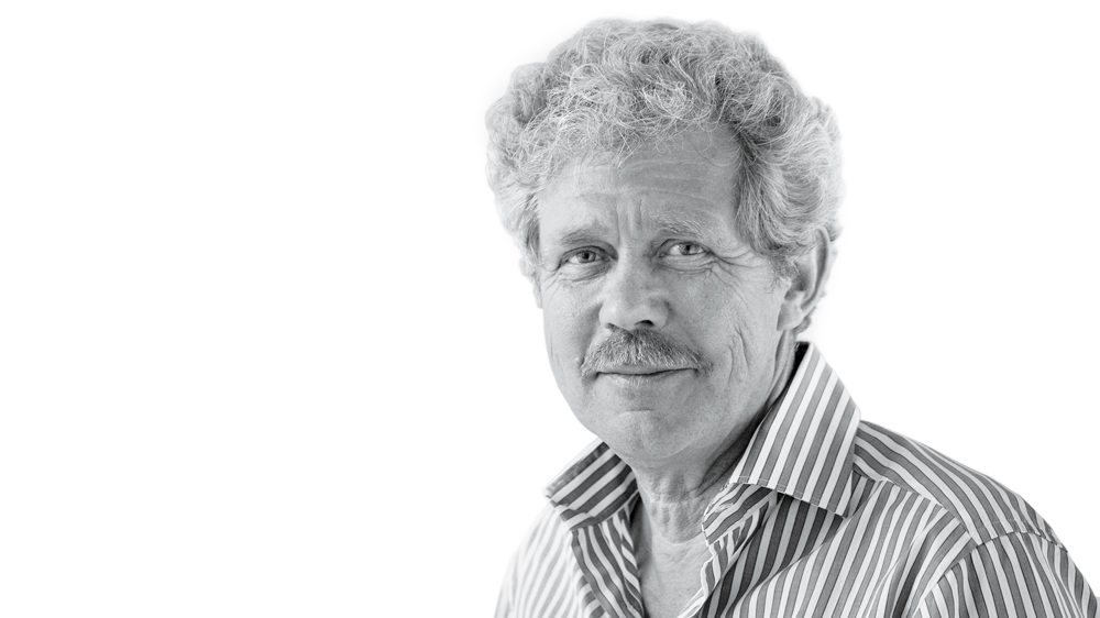 Jean-Marc Wiederrecht portrait black and white