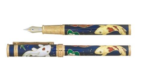 David Oscarson Koi Pen in Blue