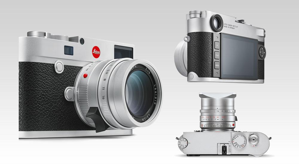 multiple views of Leica M10 digital camera
