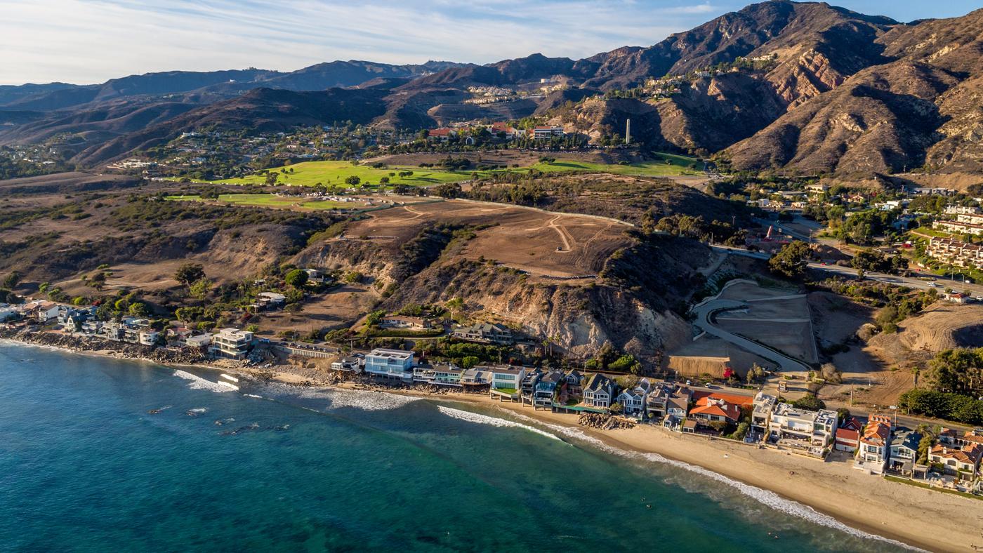 $50 Million Land in Malibu