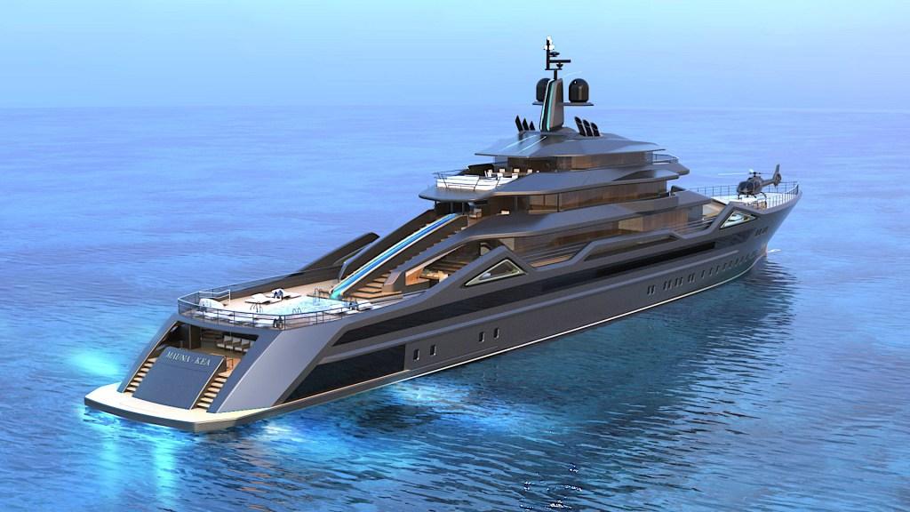 RC Designs Mauna Kea Gigayacht Fincantieri