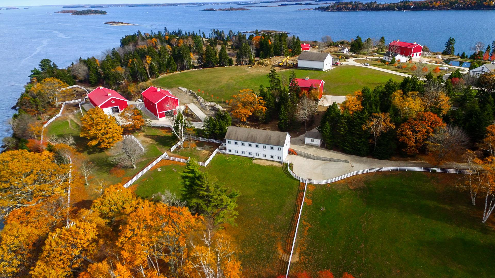 Hope Island Maine estate