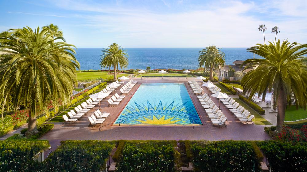 Montage Laguna Beach pool view