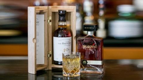 Balvenie 40-year Single Malt Scotch and Disarono Riserva Amaretto cocktail
