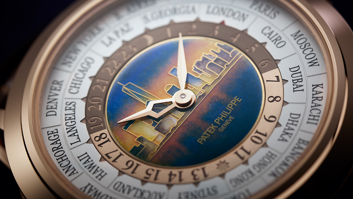 Patek Philippe Repeater World Time Night Dial