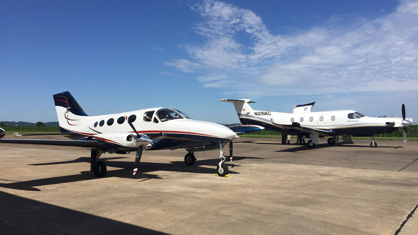 An image of aircraft at Perryville Municipal Airport in Perryville, Mo.
