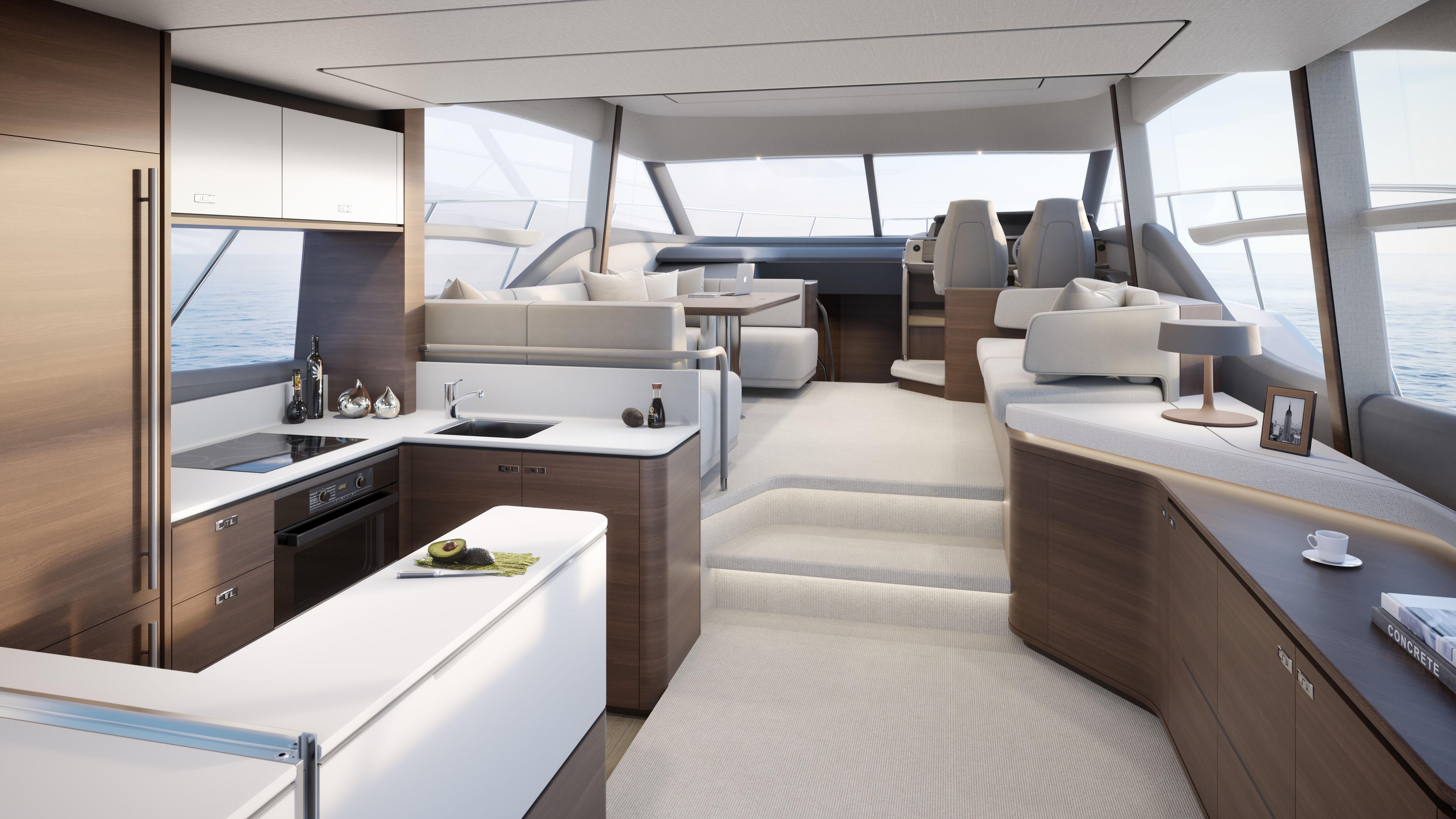 Princess Yachts Princess 55 Flybridge Yacht
