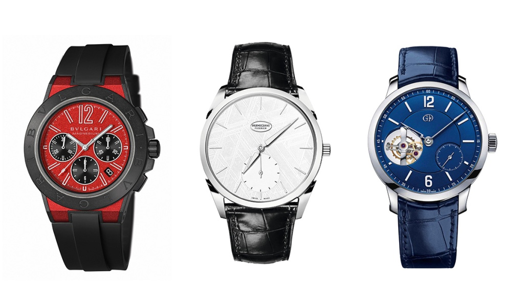 Red White and Blue Watches