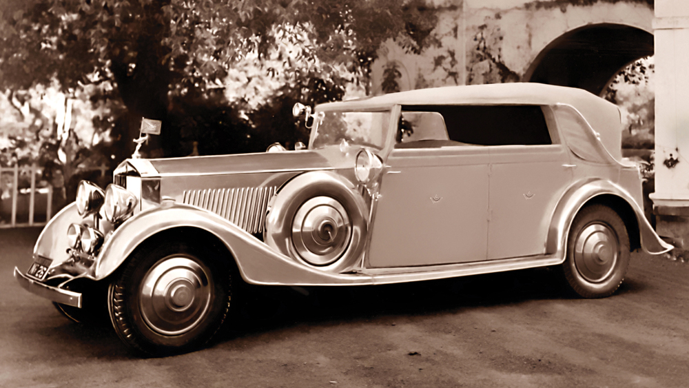 rolls royce vintage from 1934