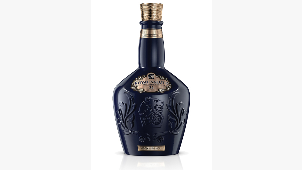 Royal Salute bottle shote