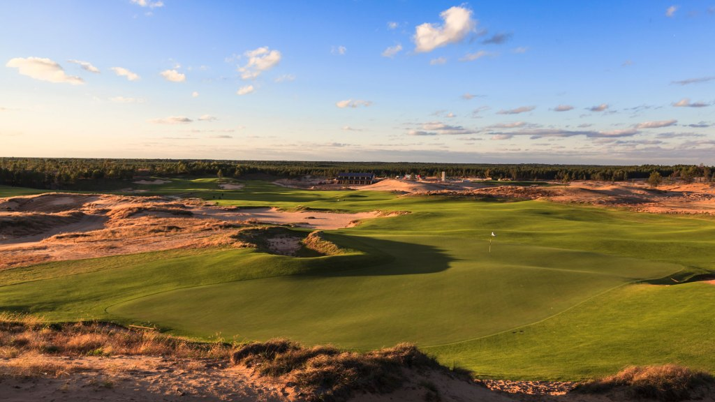 Sand Valley Hole 18 green