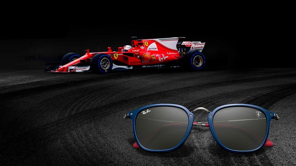 Scuderia Ferrari Ray Ban Collaboration