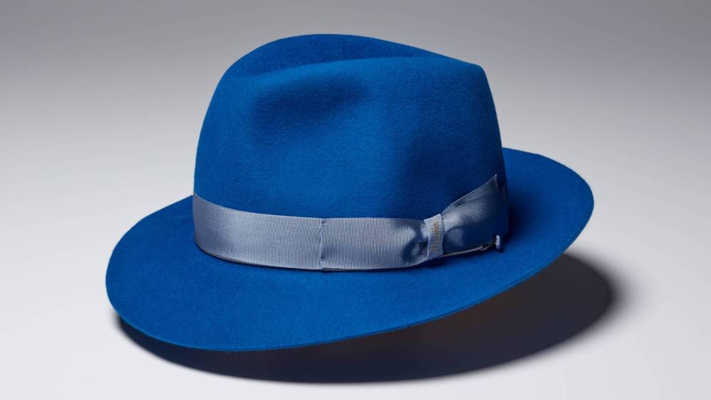 Borsalino Hat in blue