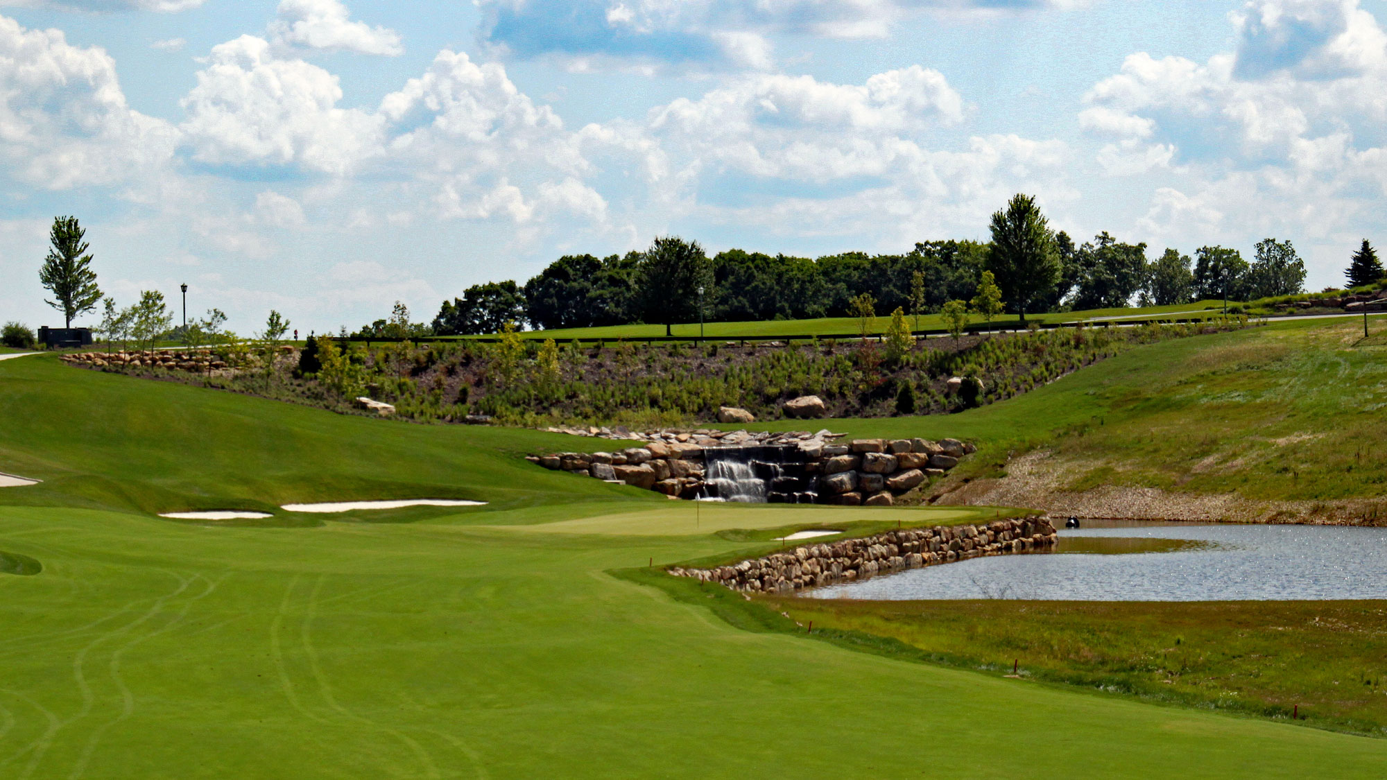Pete Dye's Shepherd's Rock course 18th hole