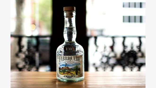 Sotol bottle of spirit