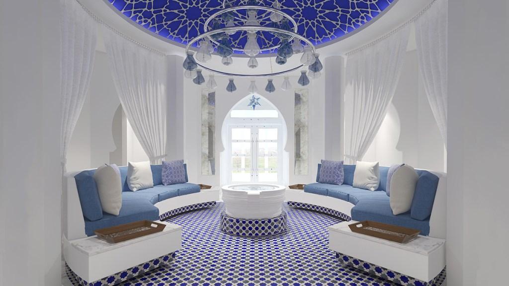 The spa at Santa Barbara's Hotel Californian