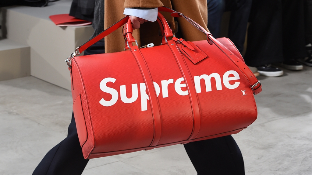 Supreme Louis Vuitton Duffel Bag