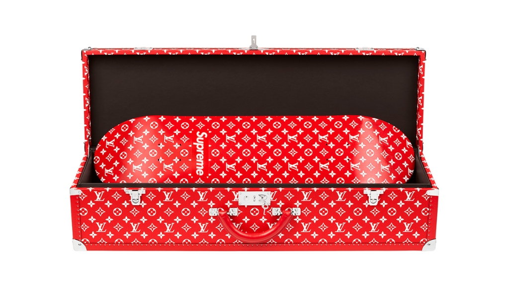 Supreme Louis Vuitton Skateboard Trunk