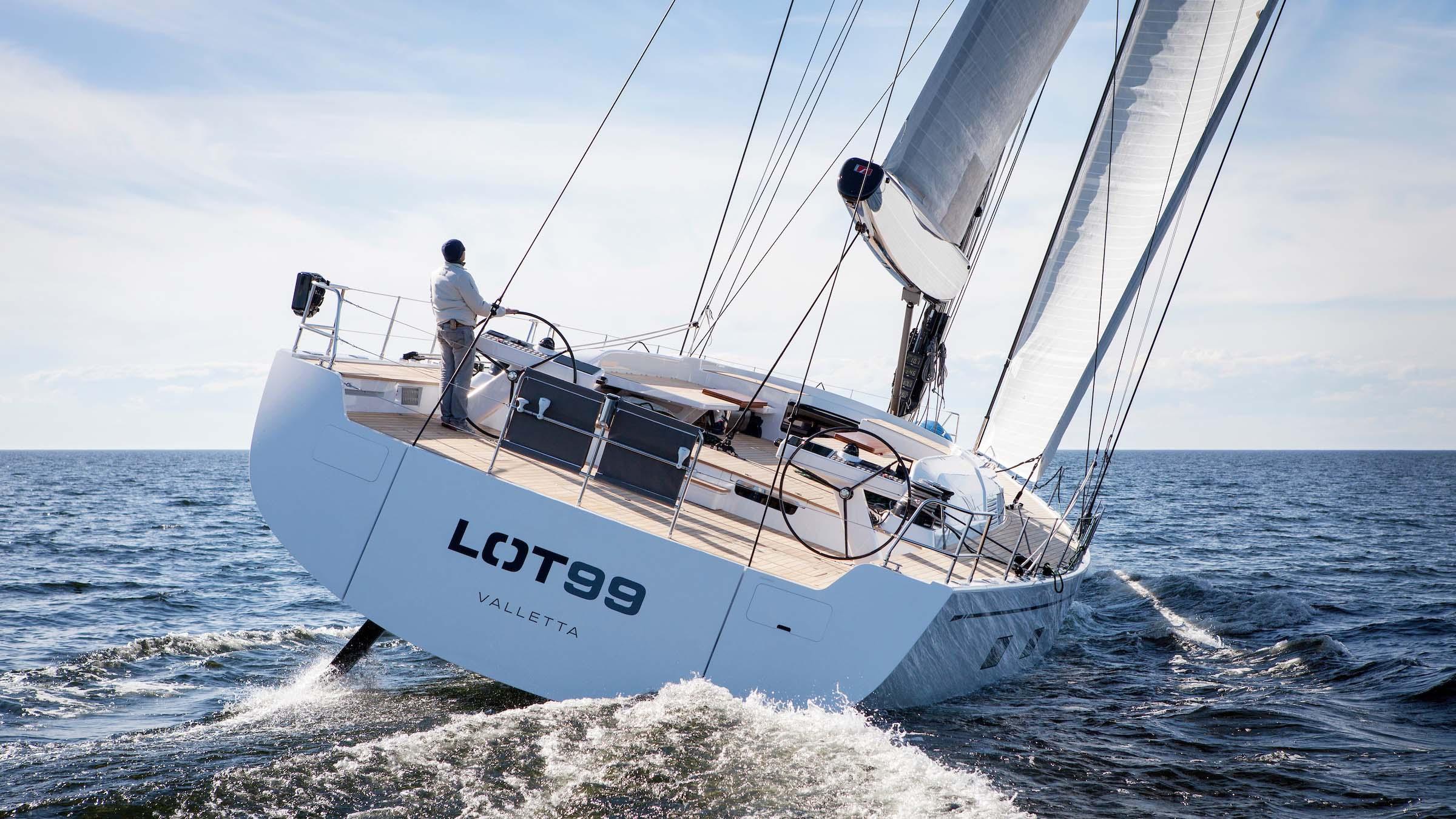 Nautor's Swan Swan95 Lot99 Sailing Yacht