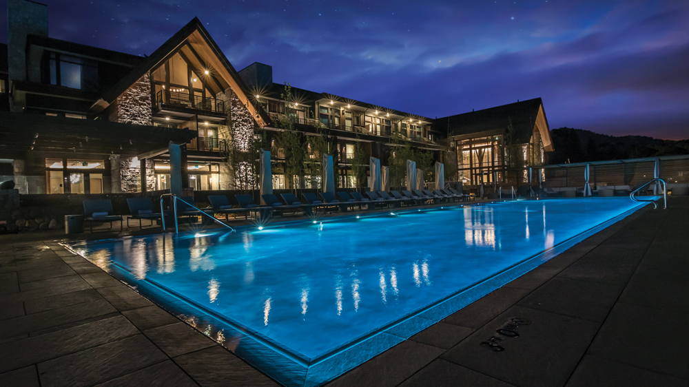 exterior of the Lodge at Edgewood Tahoe