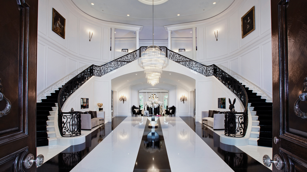 The Manor Los Angeles foyer